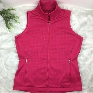 Nike Golf Large Pink polka dotted vest NWOT